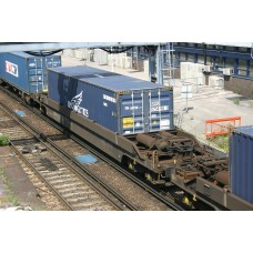 KQA-KTA Pocket Wagon (With a NYK Logistics Container)