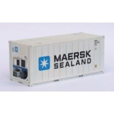 20ft Reefer in MAERSK white livery - Per Pair