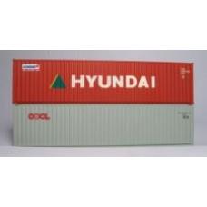 Hyundai & OOCL 40ft Hi-Cubes - Twin Pack