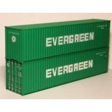 Hi-Cube 40ft x 9'6 EVERGREEN - pair