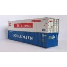 Hanjin 40ft Hi-Cube & K-Line 40ft Reefers (Pair)