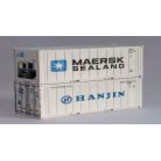 Maersk-Sealand & Hanjin 20Ft Refridgerated Container
