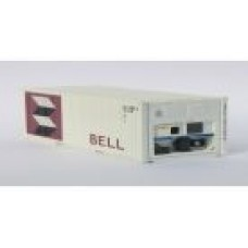 BELL 20ft Refridgerated Container. Per Pair (2)