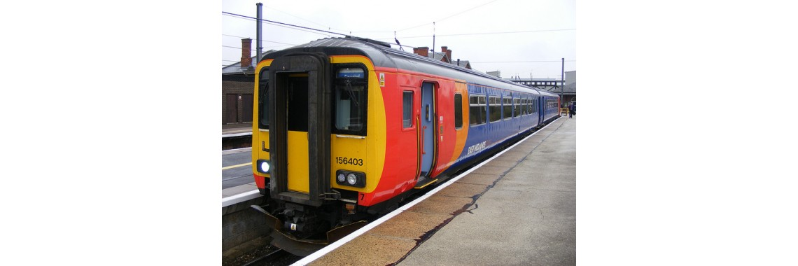New for 2018 - Class 156 East Midlands Livery