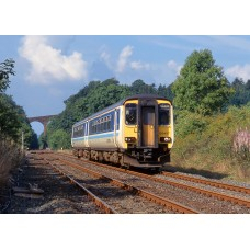 New Release Due 2018 - Secure yours now with a £50 Deposit. - RT156-314 Class 156 - Set Number 156418 - BR Provincial Livery..