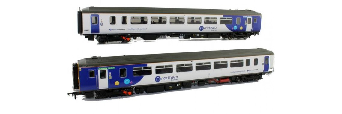 156-411 Class 156 Northern White Livery