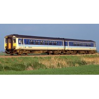 New Release Due 2018 - Secure yours now with a £50 Deposit.(Pay Remaining Balance in 2018 - Full loco cost £210)    - RT156-311 Class 156 - Set Number 156438 - BR Provincial Livery.