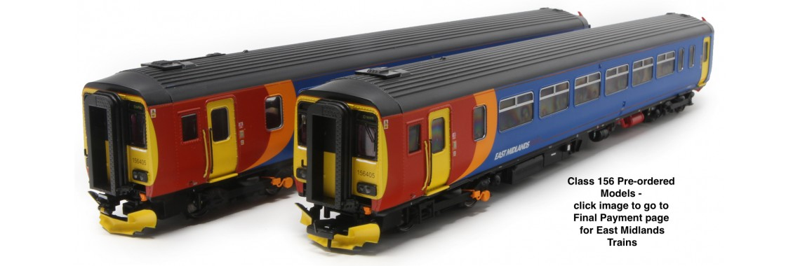 Class 156 - Pre-Ordered Models