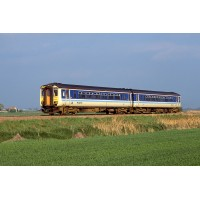 RT156-314 Class 156 - Set Number 156418 - BR Provincial Livery..(PRE-ORDERED)
