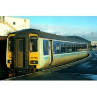 RT156-313 Class 156 - Set Number 156458 - BR Provincial Livery.(PRE-ORDERED)